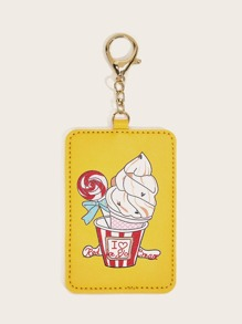 Ice Cream Print Card Holder