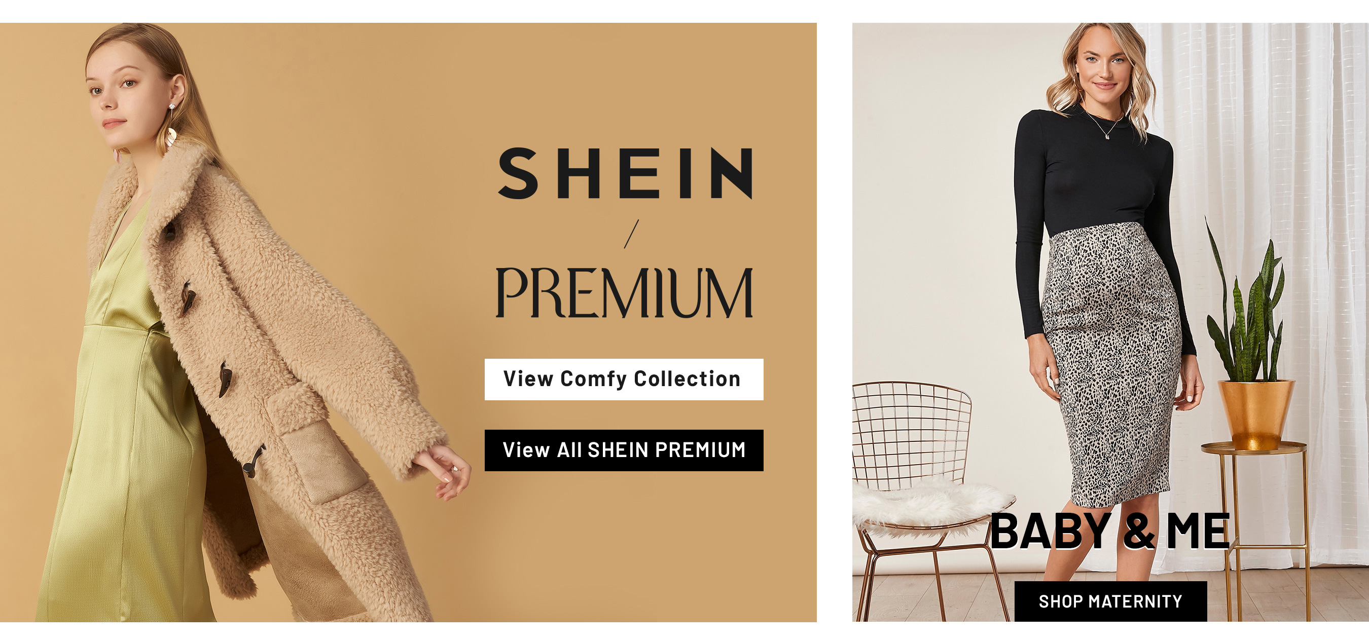 Shein Coupons - SHEIN PREMIUM COMFY starting at just $7.99