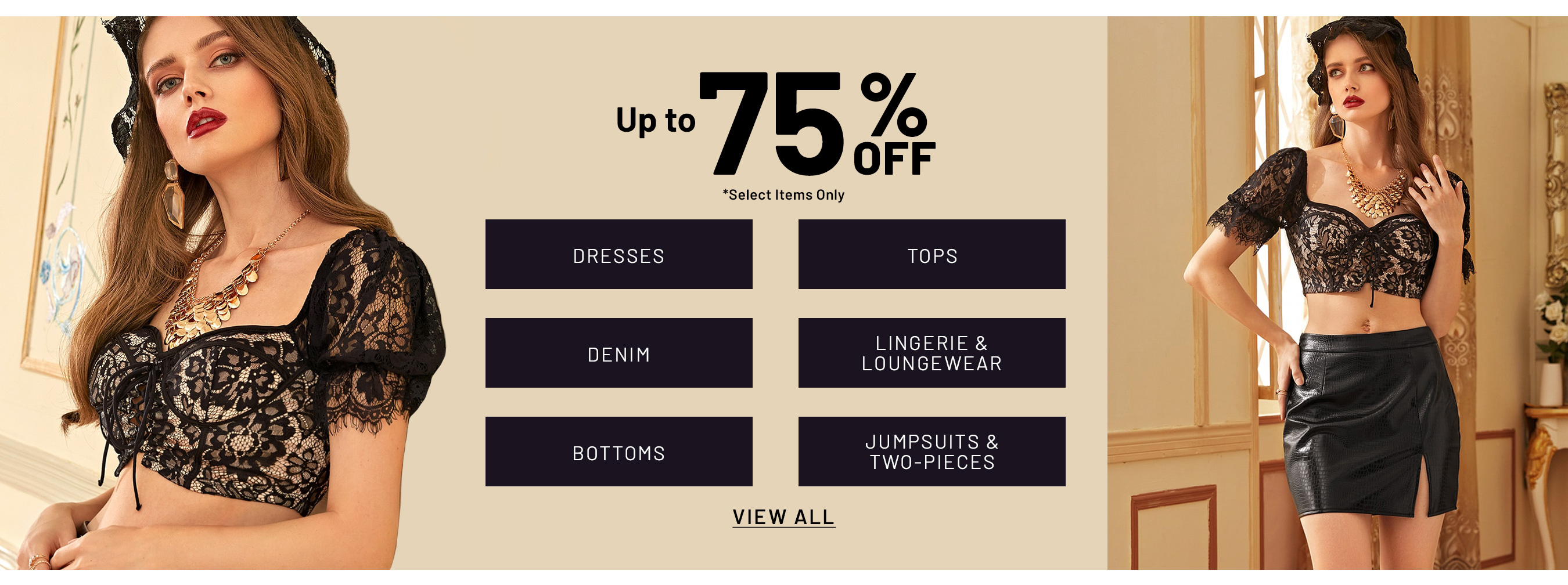 Shein Coupons - Up to 75% Off on Women's Apparels