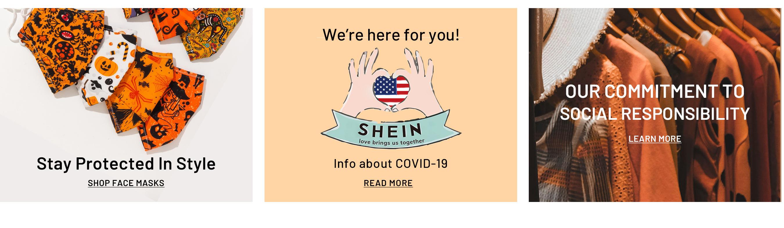 Shein Coupons - Face Masks starting at just $4
