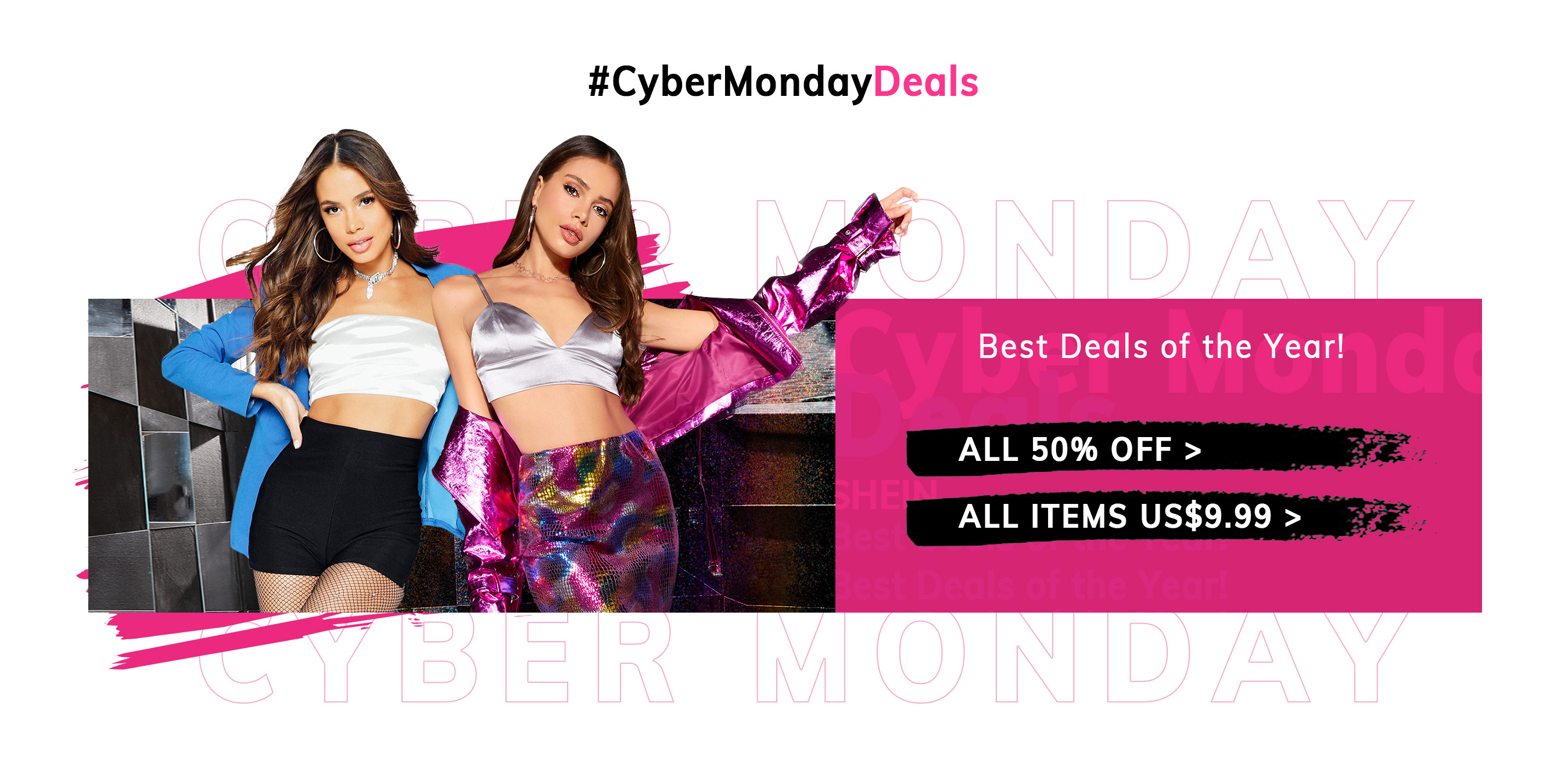 Cyber Monday with Romwe and Shein