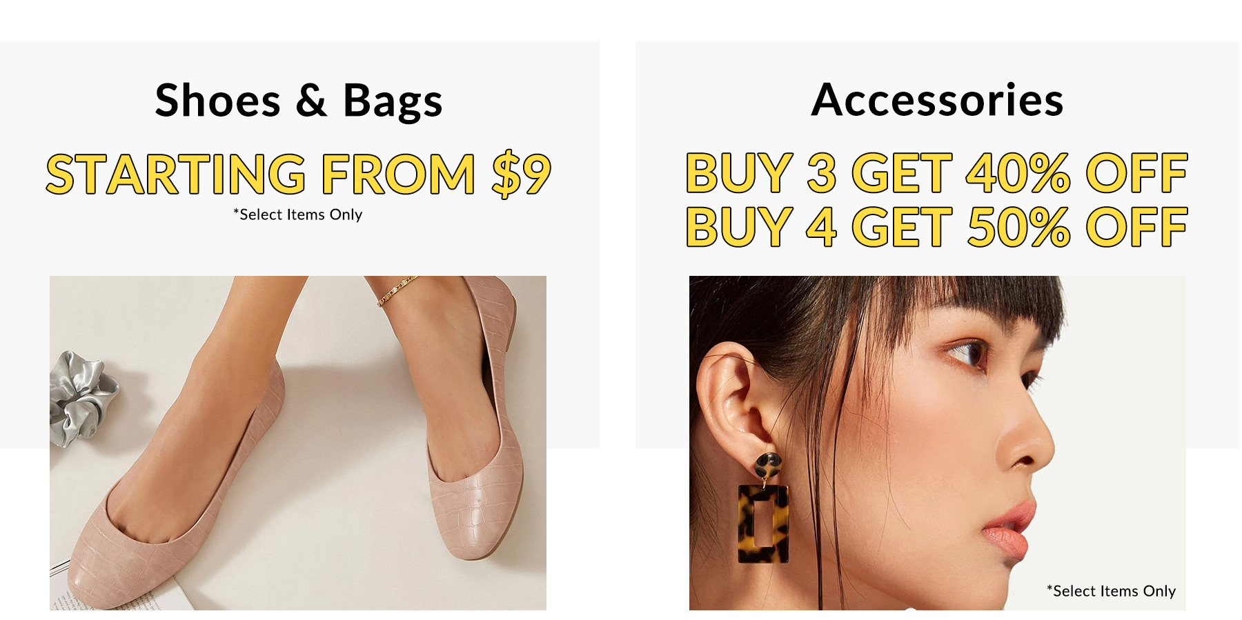 Shein Coupons - Footwear starting at just $9