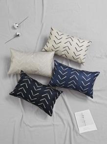 1pc Simple Arrow Line Print Pillowcase Shein Eur