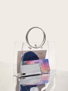 Clear O-ring Handle Bag