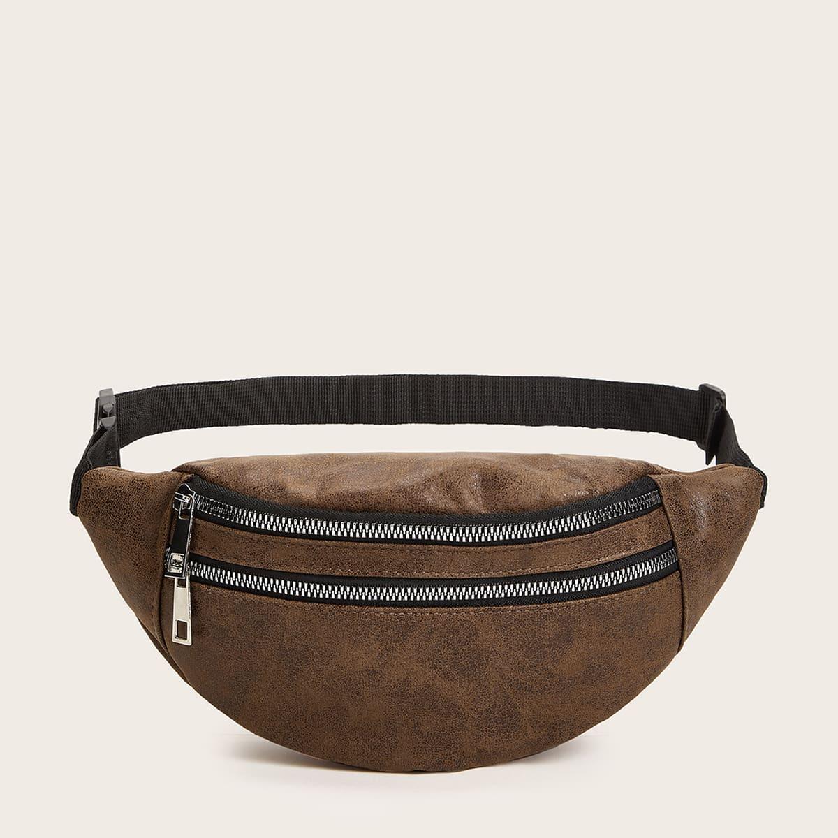 Zipper Front Fanny Pack