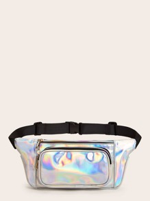 Release Buckle Holographic Fanny Pack