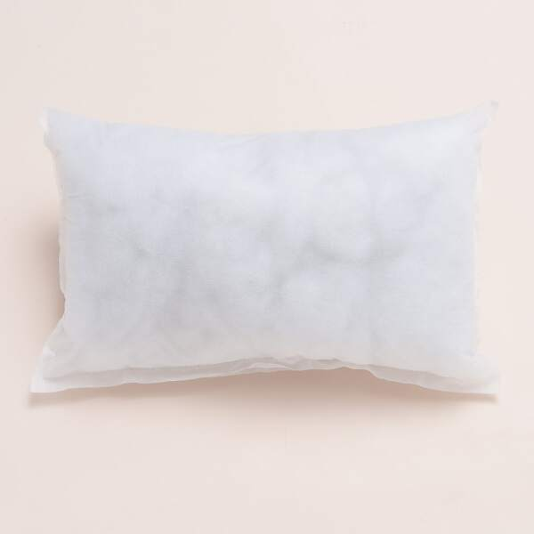 Soft Pillow Insert, White