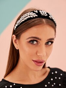 Rhinestone Decor Headband