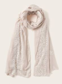 Paisley Graphic Scarf