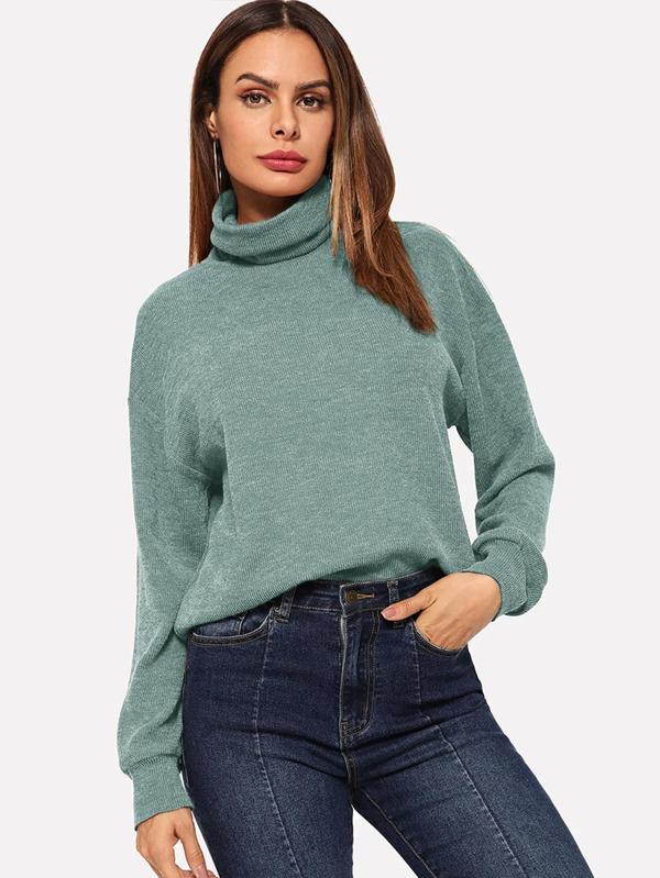 turtle-neck sweaters