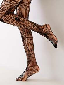 Spider Web Fishnet Tight