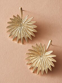 1pair Leaf Stud Earrings