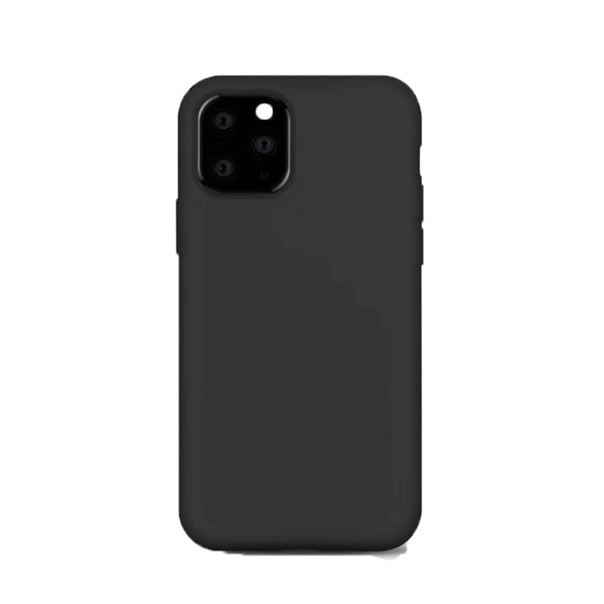 1pc Solid Color Soft iPhone Case