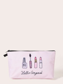 Cosmetics Pattern Makeup Bag