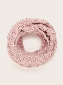 Solid Ring Scarf