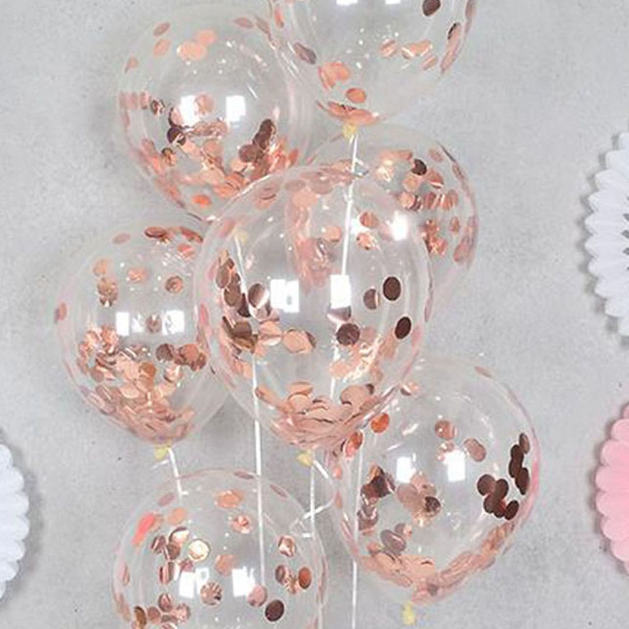 12 Inch Confetti Balloon 10pcs, SHEIN  - buy with discount