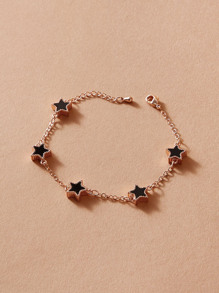 1pc Star Charm Chain Bracelet
