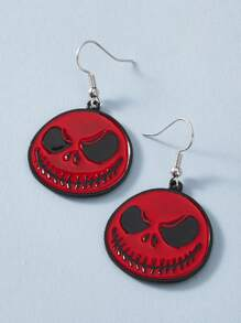 1pair Devil Drop Earrings