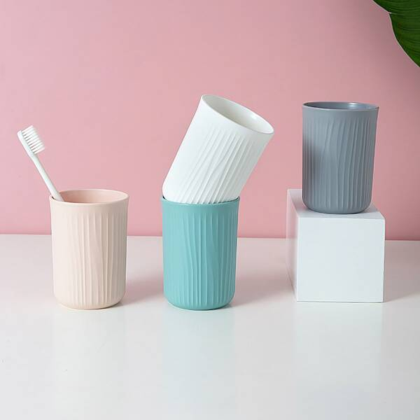 1pc Solid Toothbrush Cup, Multicolor