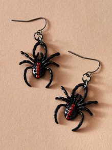 1pair Spider Drop Earrings