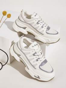 Lace-up Front Chunky Trainers