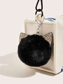 Pom-pom Pendant Bag Accessory