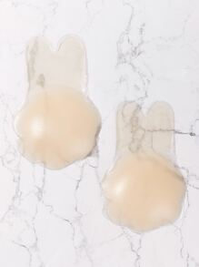 1pair Plus Rabbit Ear Shaped Nipple Cover