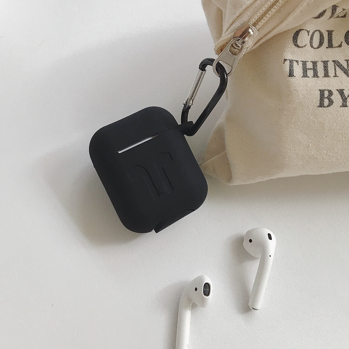 Solid Wireless Bluetooth Earphone Case