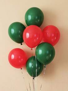 20pcs 10 Inch Solid Balloon Set
