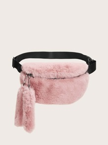 Faux Fur Fluffy Fanny Pack
