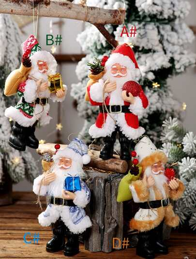 1pc Santa Claus Hanging Ornament