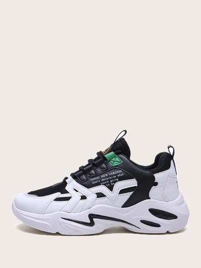 Guys Lace-up Chunky Sneakers