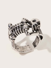 Skeleton Design Ring