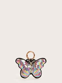 Sequin Decor Butterfly Shaped Bag Accessories