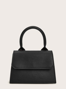 Twist Lock Satchel Bag