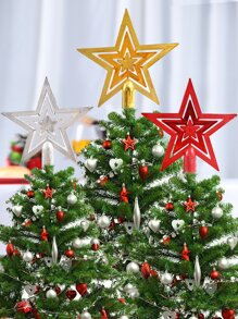 1pc Christmas Tree Star Topper
