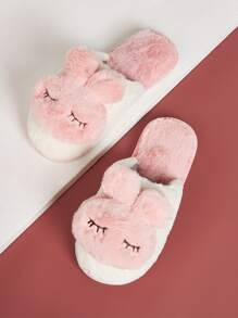 Rabbit Decor Slippers