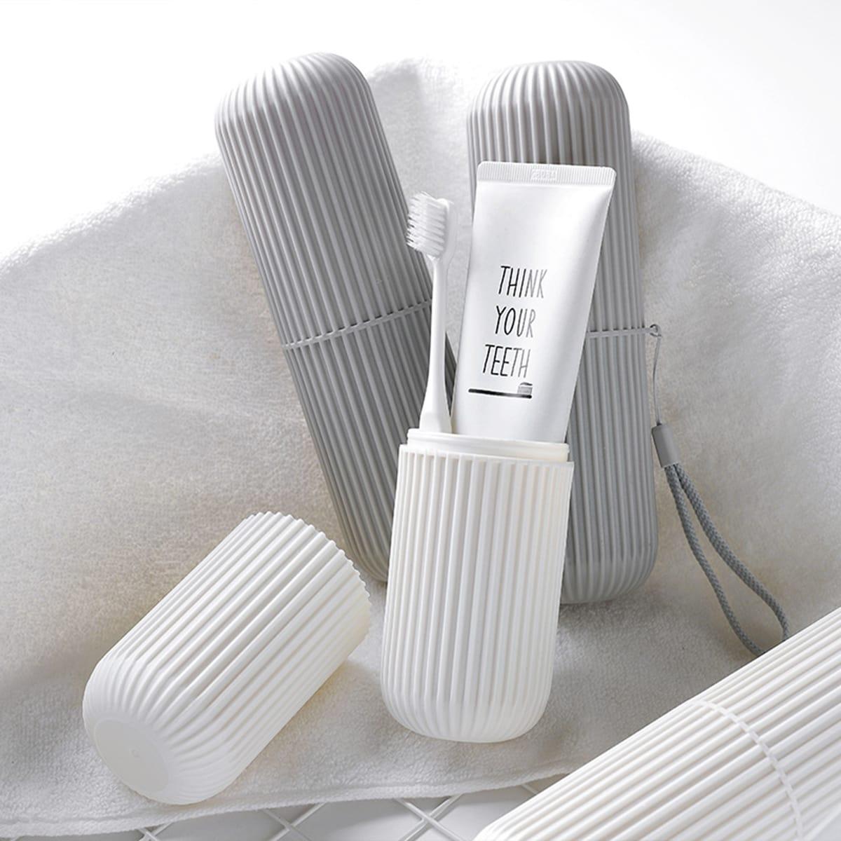 Tragbare Aufbewahrungsbox für Zahnbürsten 1 Stück