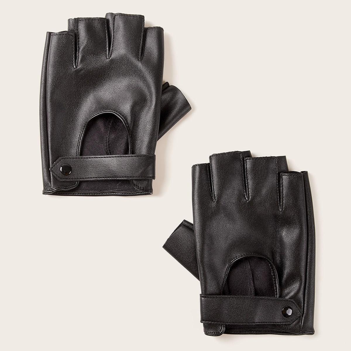 Männer Fingerlose Handschuhe 1 Paar