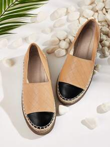 Quilted Espadrille Flats