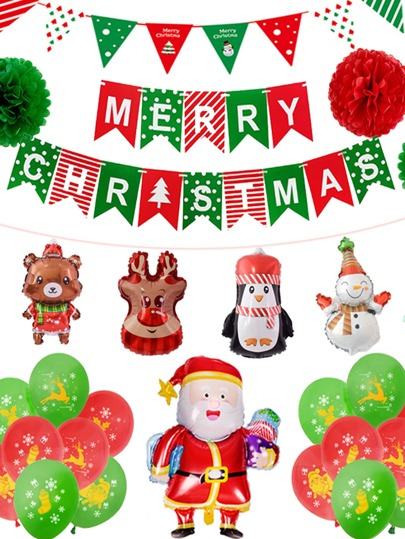 Christmas Decorative Balloon Set