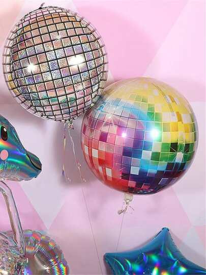 1pc Disco Aluminum Foil Balloon