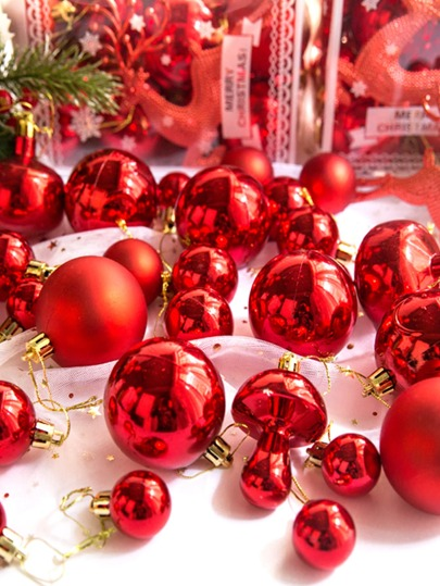30pcs Christmas Tree Ball Hanging Ornament