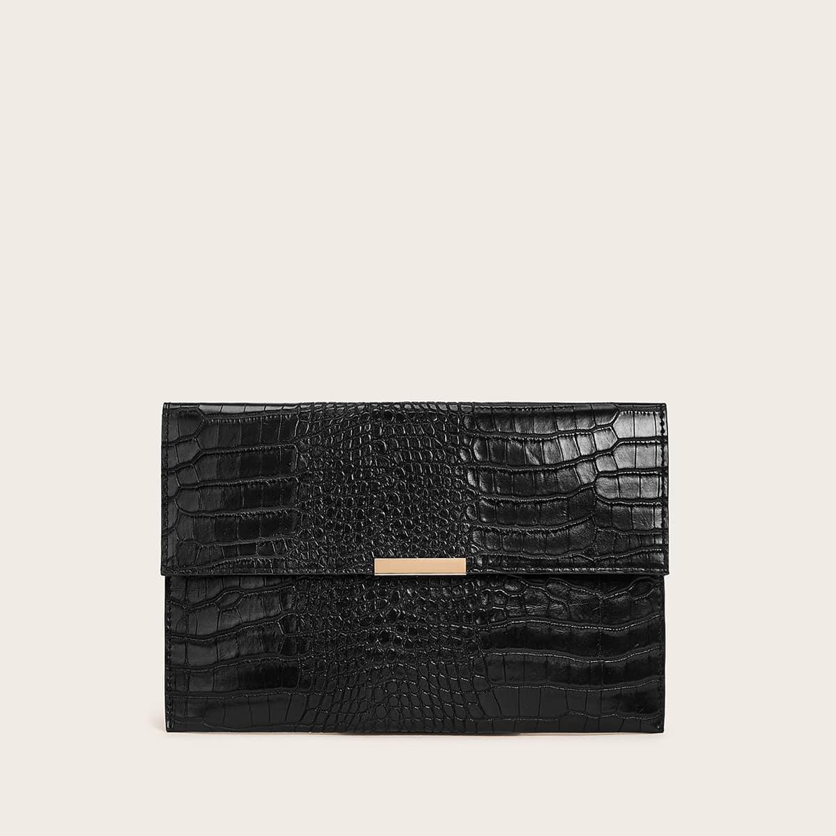 Рельефная сумка-клатч