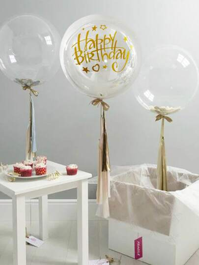 1pc Happy Birthday Sticker Balloon