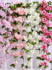 1pc Artificial Flower Vine Decoration