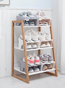 1pc Double Layer Shoes Storage Rack