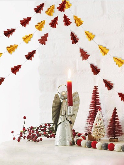 1pc Paper Tree Decorative Garland