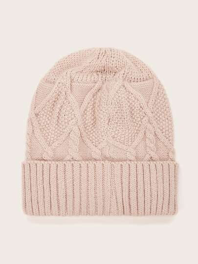 Braided Knit Beanie