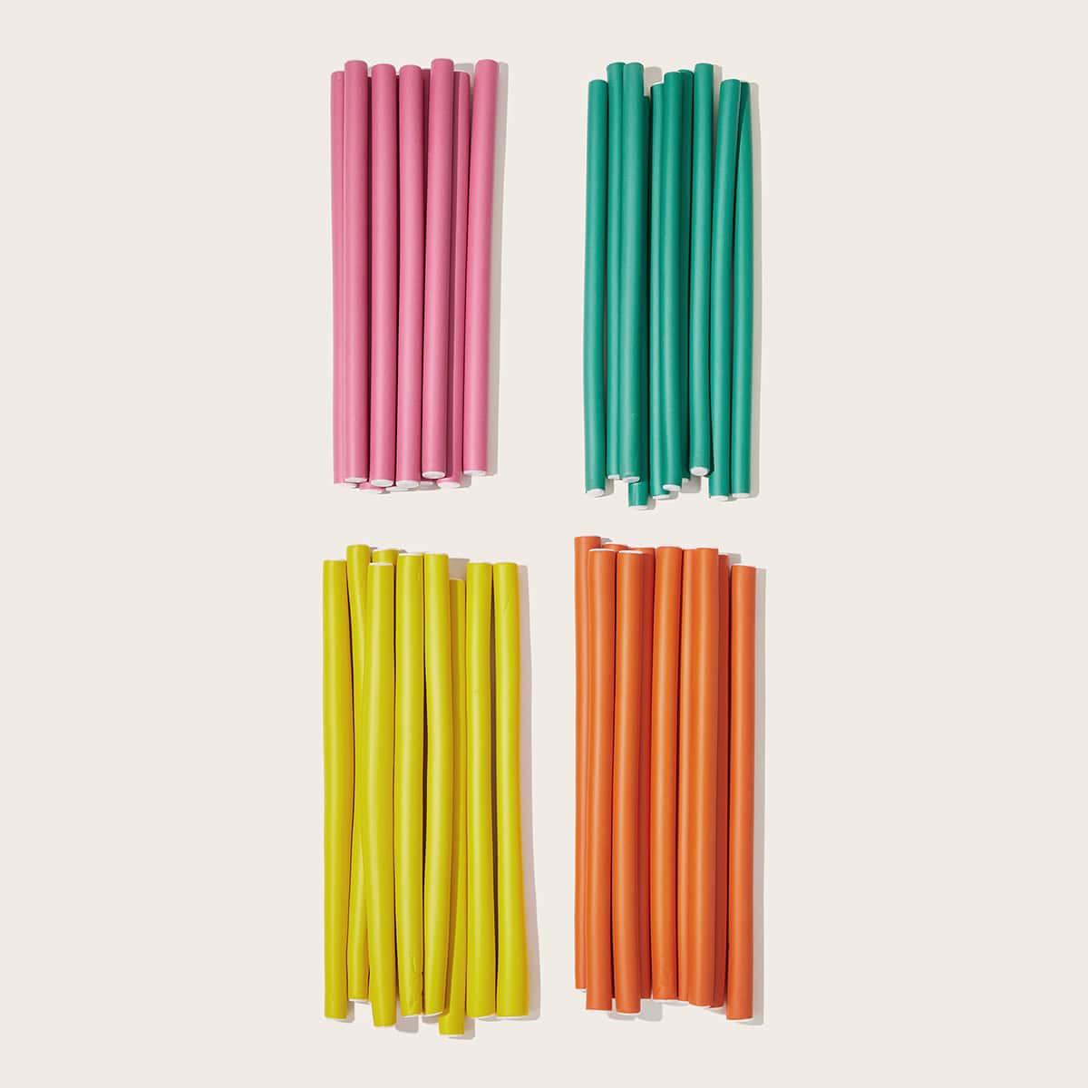 10шт случайные цветные бигуди